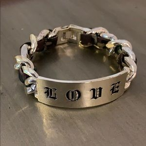 Harajuku Lovers by Gwen Stefani Chain Bracelet
